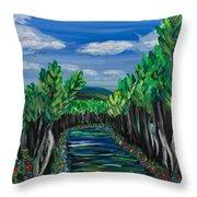 El Camino - El Verano - The Path - Summer Throw Pillow