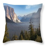 El Capitan Valley View Throw Pillow
