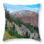 El Diente Peak Throw Pillow