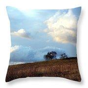 El Dorado Hills Skyscape Throw Pillow