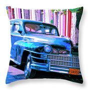 El Embajador Throw Pillow