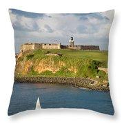 El Morro - San Juan Throw Pillow