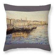 El Palacete-santander Throw Pillow