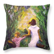 El Paseo  Throw Pillow