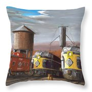 El Power Throw Pillow by Christopher Jenkins