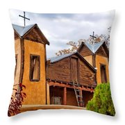El Santuario De Chimayo Study 1 Throw Pillow
