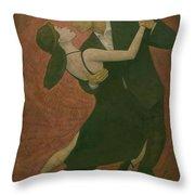 El Tango Throw Pillow