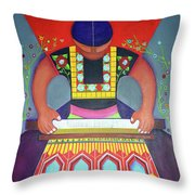 El Telar Throw Pillow