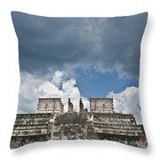 El Templo De Las Columnas  1 Throw Pillow