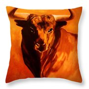El Toro Throw Pillow
