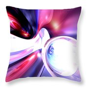 Elation Abstract Throw Pillow