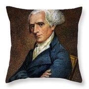 Elbridge Gerry, 1744-1814 Throw Pillow