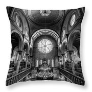 Eldridge Street Synagogue Throw Pillow
