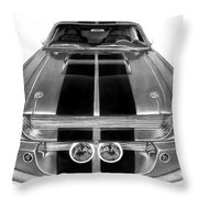Eleanor Ford Mustang Throw Pillow