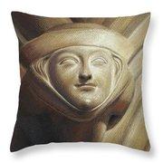 Eleanor Of Aquitaine Throw Pillow