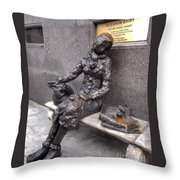 Eleanor Rigby Throw Pillow