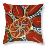 Elec Flower Throw Pillow