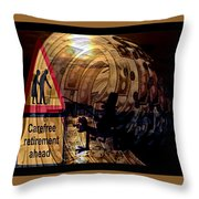 Election Ahead Throw Pillow