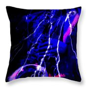 Electric Ave. Throw Pillow