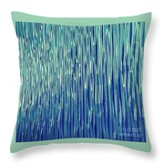 Electric Connection Throw Pillow