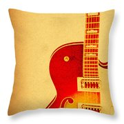 Electric Grunge Throw Pillow