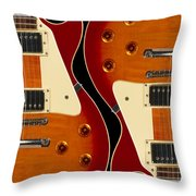 Electric Guitar IIi Throw Pillow