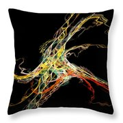 Electric Shock Throw Pillow