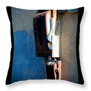 Electrical Box Throw Pillow