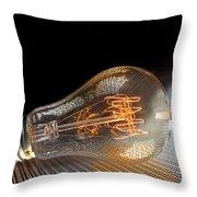 Electricentric Throw Pillow