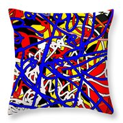 Electro Throw Pillow
