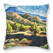 Electromagnetic Observation #3 Throw Pillow