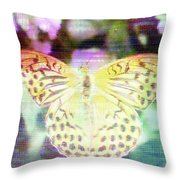 Electronic Wildlife  Throw Pillow by Bee-Bee Deigner