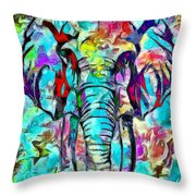 Elefante Throw Pillow