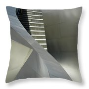 Elegance Of Steel And Concrete Throw Pillow