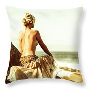 Elegant Classical Beauty  Throw Pillow