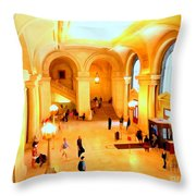 Elegant Entrance Throw Pillow