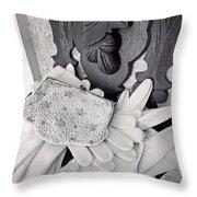 Elegant Fashion Throw Pillow