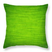 Elegant Green Abstract Background Throw Pillow