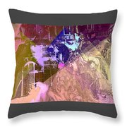 Elegant Horse Throw Pillow