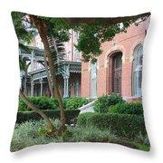 Elegant Retreat In Tampa Throw Pillow