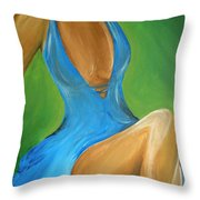 Elegant Seduction Throw Pillow