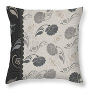 Elegante IIi Throw Pillow