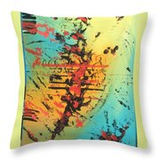 Element Of Fear Throw Pillow