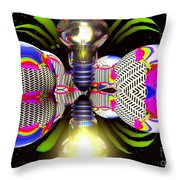 Element Of Suprise Throw Pillow