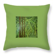 Element Of Wood Throw Pillow