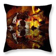 Element Reflections Throw Pillow