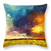 Element2 Throw Pillow
