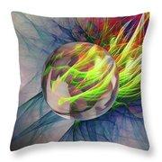 Elemental Space Throw Pillow