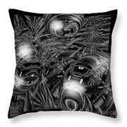 Elements Of Peace Throw Pillow