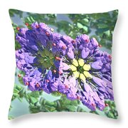 Elements Of Spring Throw Pillow